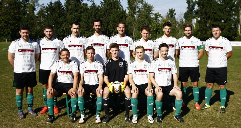 2. Mannschaft, Saison 2016/17: Untere Reihe: Dominik Pelzer (TR), Marcus Mohnen, Alexander Siep, Fabian Hellenbrandt, Eike Vomberg